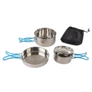 Stansport 363-100 Stainless Steel Cook Set