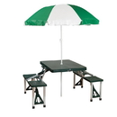 Stansport 615 Picnic Table And Umbrella Combo Pack