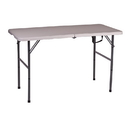 Stansport 616-2448 Folding Table - White - 48 In X 24 In X 29 In