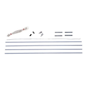 Stansport 750-11 Fiberglass Pole Replacement Kits - Family Tents - 11 Mm