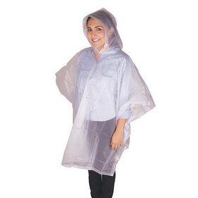 Stansport 963-C Peva Vinyl Poncho - 45 X 72 - Youth - Clear