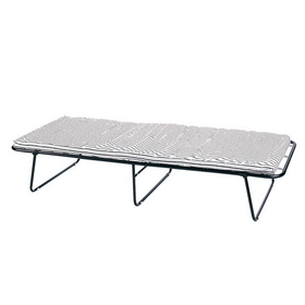 Stansport G-23 Steel Cot With Mattress - 75 In X 31 In X 13-1/2 In