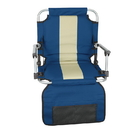 Stansport G-8-50 Stadium Seat With Arms - Blue / Tan Stripe