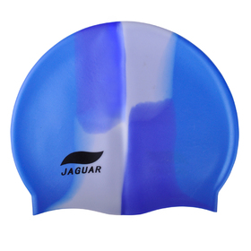 JAGUAR Silicone Swim Caps - Multicolor 48 PCS Wholesale Lot