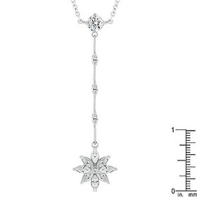Icon Bijoux P20091R-C01 Chandelier Marquise Flower Pendant, Price/each