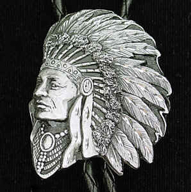 Siskiyou BT76D Bolo - Free Form Indian(Diamond Cut)