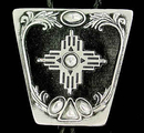 Siskiyou Buckle BT91D Bolo - New Mexico Cross (Diamond Cut)