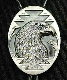 Siskiyou BTL10D Large Bolo - Eagle Head(Diamond Cut)