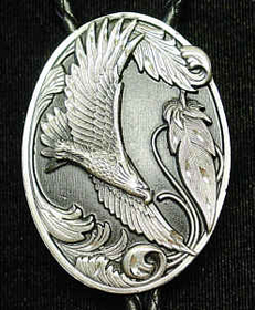 Siskiyou BTL4D Large Bolo - Flying Eagle(Diamond Cut)