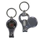 Siskiyou Buckle C3KC63 S. Carolina Gamecocks Nail Care/Bottle Opener Key Chain