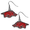 Siskiyou Buckle CDE12 Arkansas Razorbacks Dangle Earrings