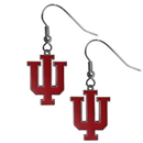 Siskiyou Buckle CDE39 Indiana Hoosiers Dangle Earrings