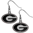 Siskiyou Buckle CDE5 Georgia Bulldogs Dangle Earrings
