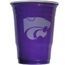 Siskiyou Buckle CGDC15 Kansas St. Wildcats Plastic Game Day Cups