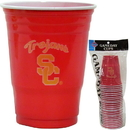 Siskiyou Buckle CGDC53 USC Trojans Plastic Game Day Cups