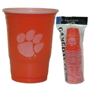 Siskiyou Buckle CGDC69 Clemson Tigers Plastic Game Day Cups
