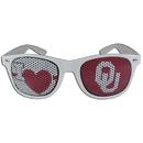 Siskiyou Buckle CHGD48W Oklahoma Sooners I Heart Game Day Shades