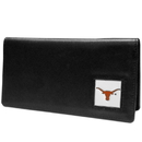 Siskiyou Buckle CNC22BX Texas Longhorns Leather Checkbook Cover