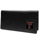 Siskiyou Buckle CNC30BX Texas Tech Raiders Leather Checkbook Cover