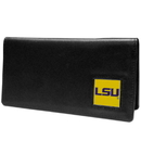 Siskiyou Buckle CNC43BX LSU Tigers Leather Checkbook Cover