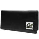 Siskiyou Buckle CNC56BX Cal Berkeley Bears Leather Checkbook Cover