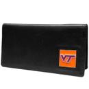 Siskiyou Buckle CNC61BX Virginia Tech Hokies Leather Checkbook Cover