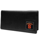 Siskiyou Buckle CNC62BX Syracuse Orange Leather Checkbook Cover