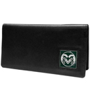 Siskiyou Buckle CNC76BX Colorado St. Rams Leather Checkbook Cover