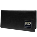 Siskiyou Buckle CNC82BX PITT Panthers Leather Checkbook Cover