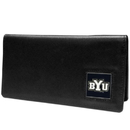 Siskiyou Buckle CNC86BX BYU Cougars Leather Checkbook Cover