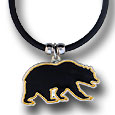 Siskiyou Buckle CPR56 Cal Berkeley Bears Rubber Cord Necklace