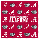Siskiyou Buckle CSCC13 Alabama Crimson Tide Microfiber Cleaning Cloth
