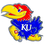 Siskiyou CTH21B Collegiate Hitch Cover - Kansas Jayhawks