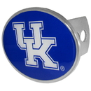 Siskiyou Buckle CTHO35 Kentucky Wildcats Oval Metal Hitch Cover Class II and III