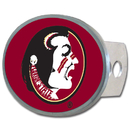 Siskiyou Buckle CTHO7 Florida St. Seminoles Oval Metal Hitch Cover Class II and III