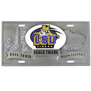 Siskiyou Buckle CVP43 LSU Tigers Collector's License Plate
