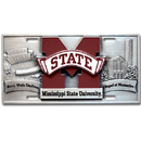 Siskiyou Buckle CVP45 Mississippi St. Bulldogs Collector's License Plate