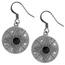 Siskiyou Buckle ER029 Dangle Earrings - Concho