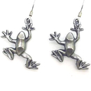 Siskiyou Buckle ER032 Dangle Earrings - Frog