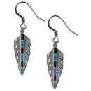 Siskiyou Buckle ER057 Dangle Earrings - Feather