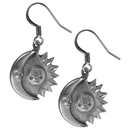 Siskiyou Buckle ER077 Dangle Earrings - Sun & Moon