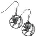 Siskiyou Buckle ER081 Dangle Earrings - Fairy & Moon