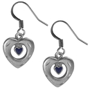 Siskiyou Buckle ER212 Dangle Earrings - Heart in Heart