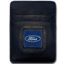 Siskiyou Buckle FDCH1 Ford Leather Money Clip/Cardholder
