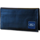 Siskiyou Buckle FDDCK1 Ford Genuine Leather Deluxe Checkbook Cover