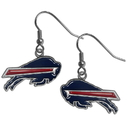 Siskiyou Buckle FDE015 Buffalo Bills Dangle Earrings