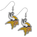 Siskiyou Buckle FDE165 Minnesota Vikings Dangle Earrings