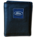 Siskiyou Buckle FDTR1 Ford Genuine Leather Tri-fold Wallet