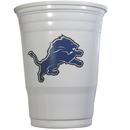Siskiyou Buckle FGDC105W Detroit Lions Plastic Game Day Cups