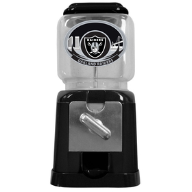 Siskiyou FGG125B Raiders NFL Gumball Machine